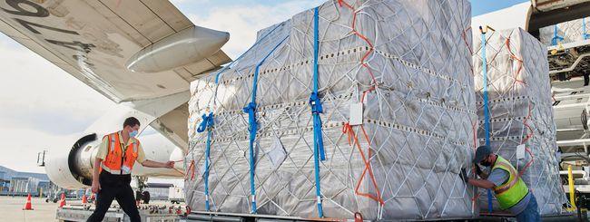 Apple, Cargo e Jet privati per ridurre i ritardi nelle consegne