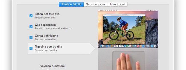 OS X: creare e modificare i gesti del Trackpad su Mac