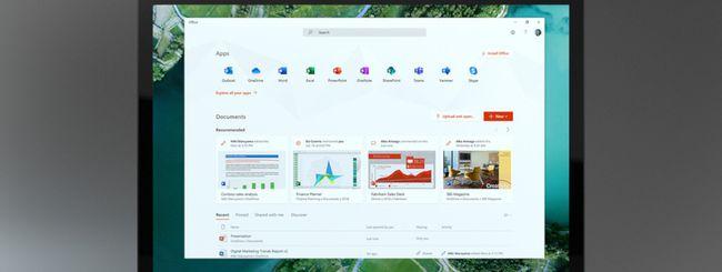 Windows 10, nuova app Office