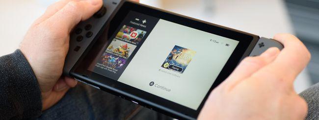 Nintendo Switch, modalità boost con il firmware 8
