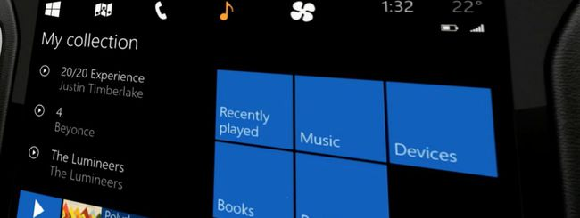 Windows in the car, la risposta a CarPlay