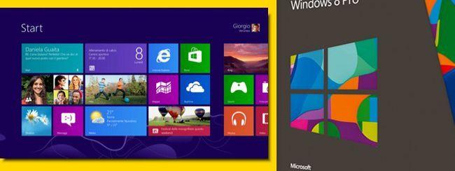 Windows 8: upgrade disponibile, anche in Italia