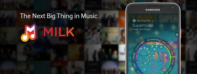 Milk Music, streaming musicale per Samsung Galaxy