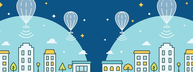 Project Loon: connessioni a 15 Mbps dal cielo