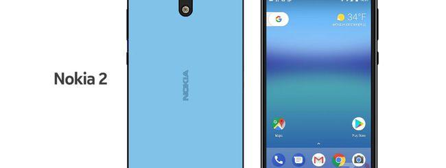 Nokia 2 con Snapdragon 212 e pulsanti on-screen?