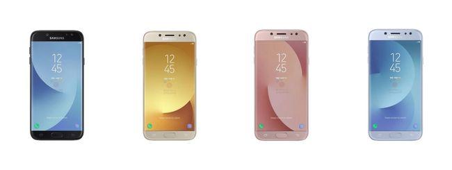 Samsung Galaxy J7 e J5, specifiche e colori