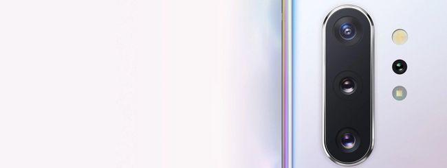 Samsung Galaxy Note 10+ fotocamere