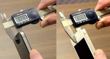 Misurazione dell'iPhone
