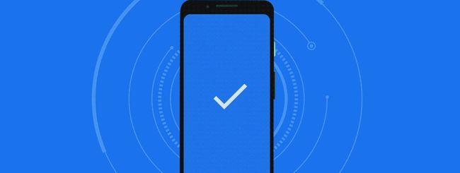 Smartphone Android, token di sicurezza integrato