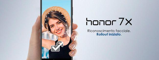 Honor 7X, riconoscimento facciale con EMUI 8.0