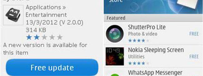 Nokia Store si rinnova per i Symbian Series 40