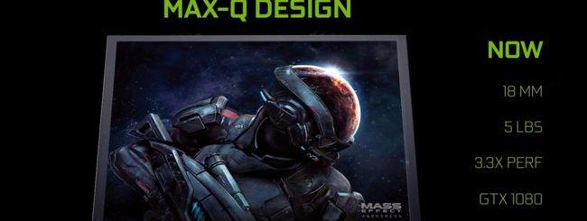 NVIDIA Max-Q, laptop gaming sottili e silenziosi