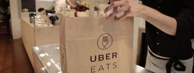 Uber porta il cibo anche a Milano