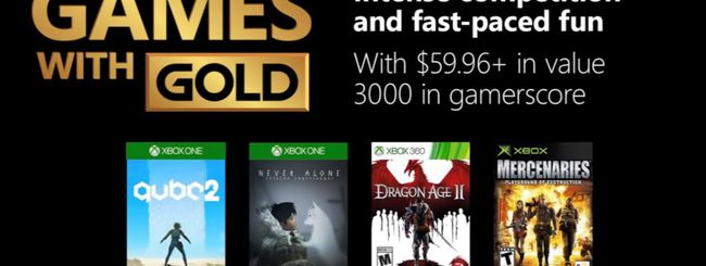 Microsoft svela i Games With Gold di dicembre 2018