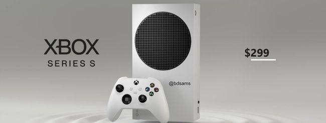 Xbox Series S, trapelano immagine e prezzo?