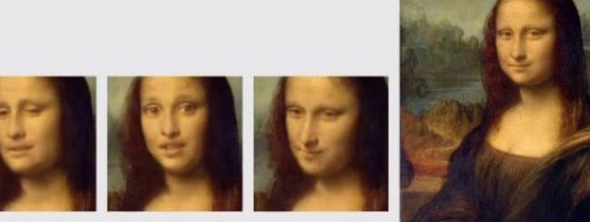 L'intelligenza artificiale ha animato Mona Lisa