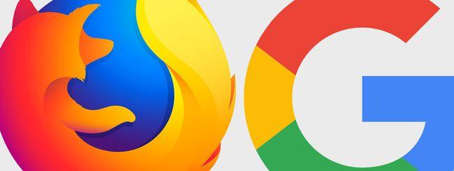 Firefox: via Yahoo, Mozilla sceglie Google