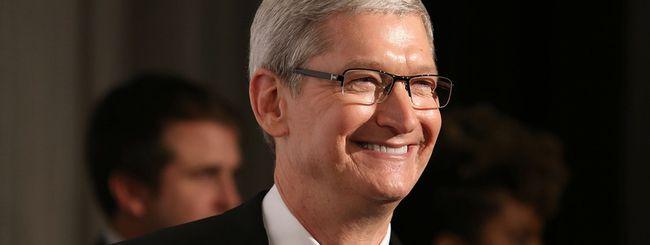 Tim Cook entusiasta del futuro in 5G di iPhone