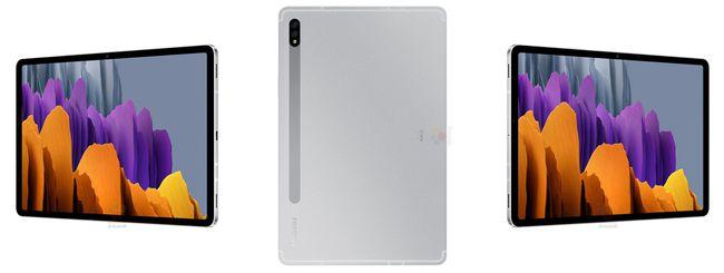 Samsung Galaxy Tab S7 e S7+: le specifiche complete