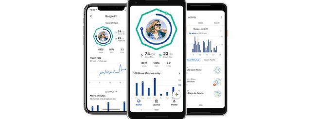 Google Fit si aggiorna: due nuovi widget in home