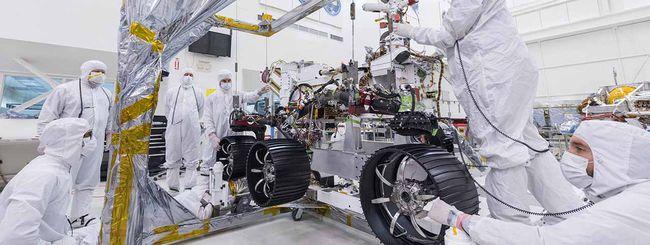 """NASA, il rover Mars 2020 ora ha """"gambe"""" e ruote"""