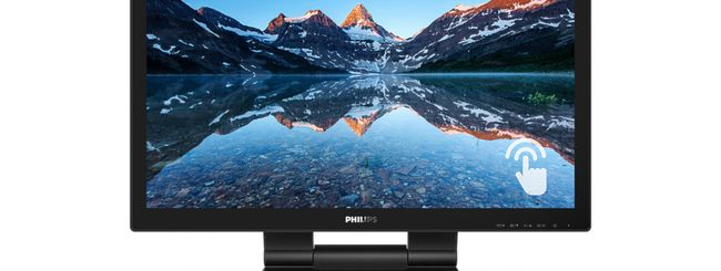 Philips 222B9T, monitor con SmoothTouch