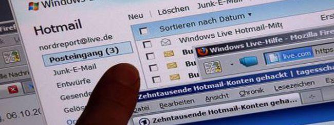 Hotmail, cos'era successo a Capodanno?