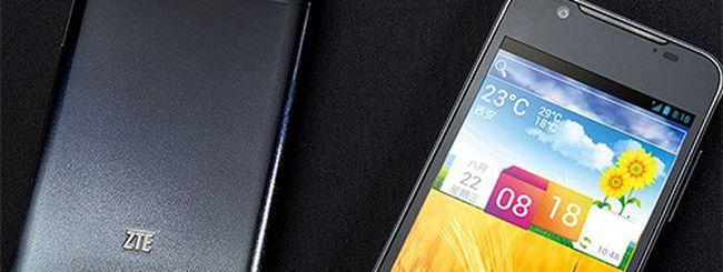ZTE Grand Era U985, lo smartphone quad core sottile