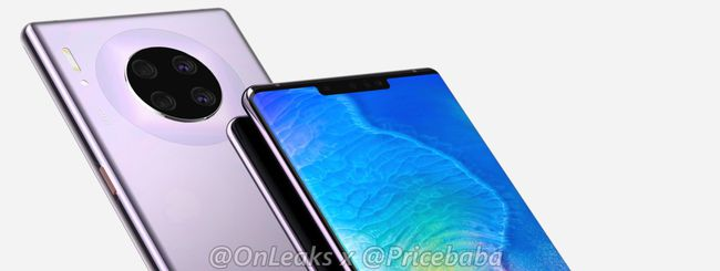 Huawei Mate 30 Pro, tre fotocamere frontali?
