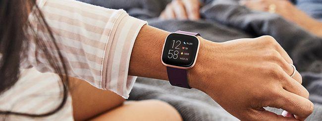 Fitbit Versa 2 su Amazon col 15% di sconto