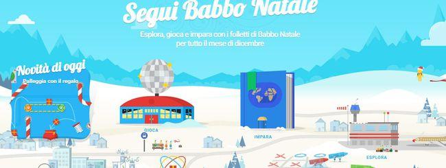 Torna il Babbo Natale di Google, con alcune novità