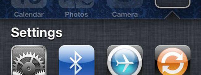 iOS 5.1 beta: addio alle scorciatoie delle Impostazioni