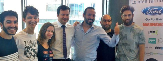 StartupBus, Lookly vince il premio Ford Italia
