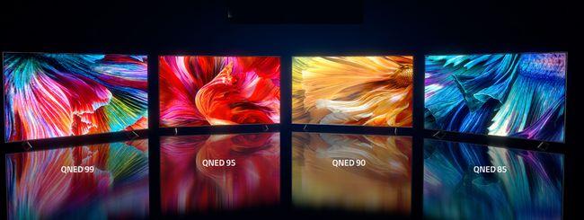 LG svela le nuove smart TV LG QNED Mini LED TV