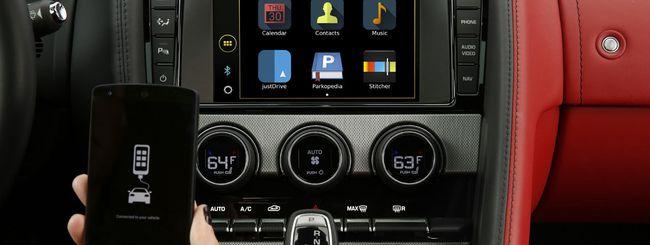 justDrive, comandi vocali per Jaguar Land Rover