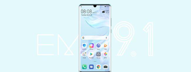 EMUI 9.1 da fine giugno su 24 smartphone Huawei