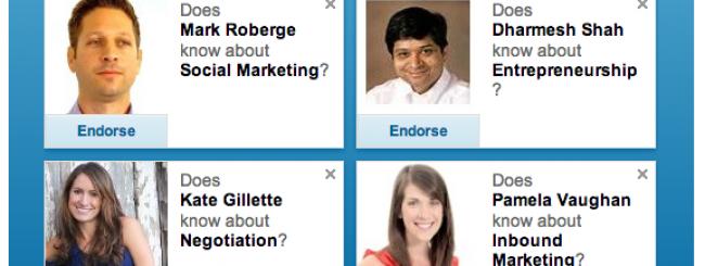 Linkedin endorsement come funziona: tutti i segreti per ottenere le skill giuste