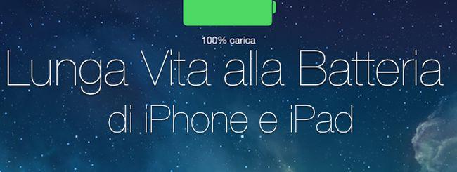 3 trucchi per allungare la vita alla batteria di iPhone e iPad