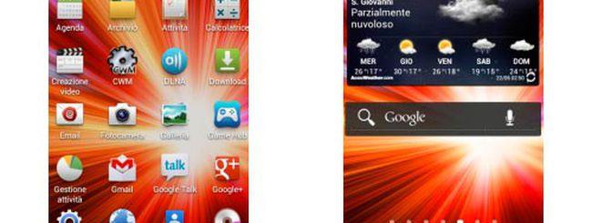 Samsung Galaxy S3: TouchWiz UX per il Galaxy S2