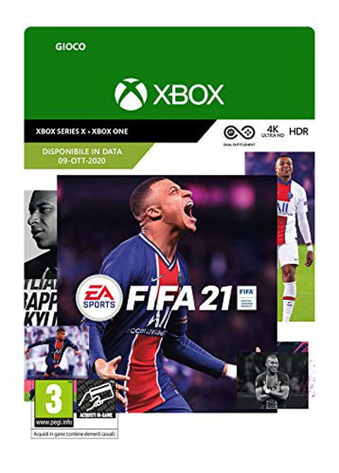 FIFA 21 Standard (Xbox One, Xbox Series X) - Codice download