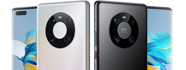 Huawei Mate 40 Pro, il top di gamma in offerta su Amazon