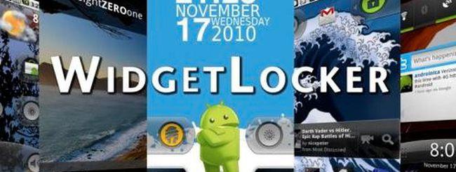 WidgetLocker personalizza la schermata di sblocco
