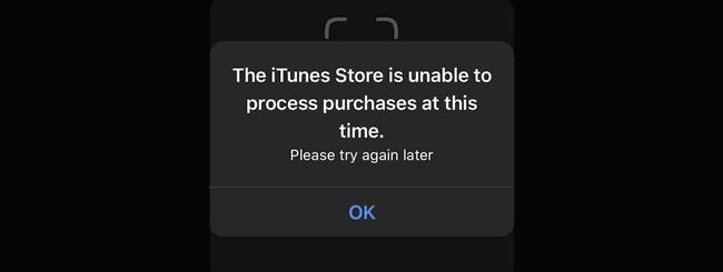 Errore iTunes Store: impennata di segnalazioni