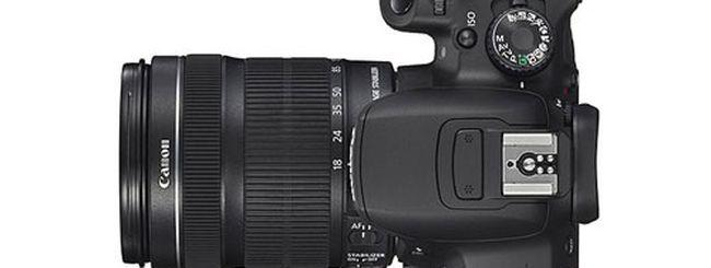Canon EOS 650D, problema di colore