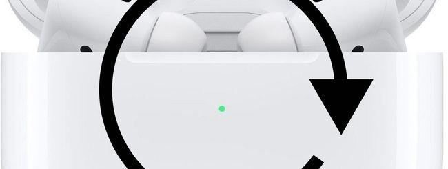 Aggiornare il firmware di AirPods & AirPods Pro
