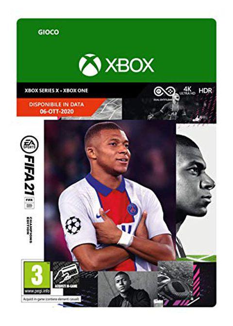 FIFA 21 Champions (Xbox One, Xbox Series X) - Codice download