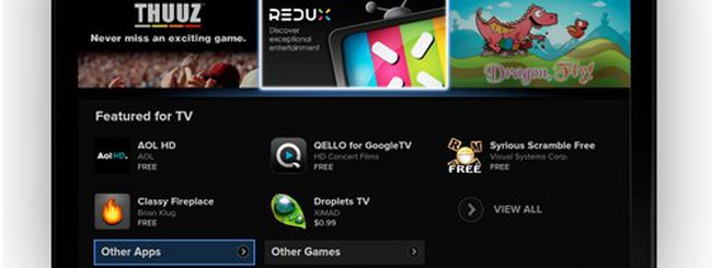 Google TV update con Honeycomb e Android Market