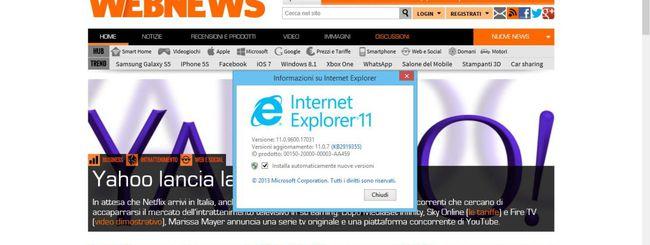 Windows 8.1, il supporto scade il 13 maggio