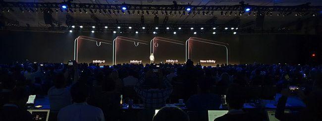 Samsung Galaxy S10 con Infinity-O display?