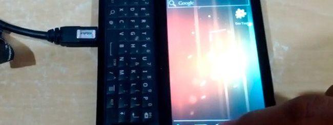 Motorola Droid: ROM Android 4.0 ICS pre-alpha